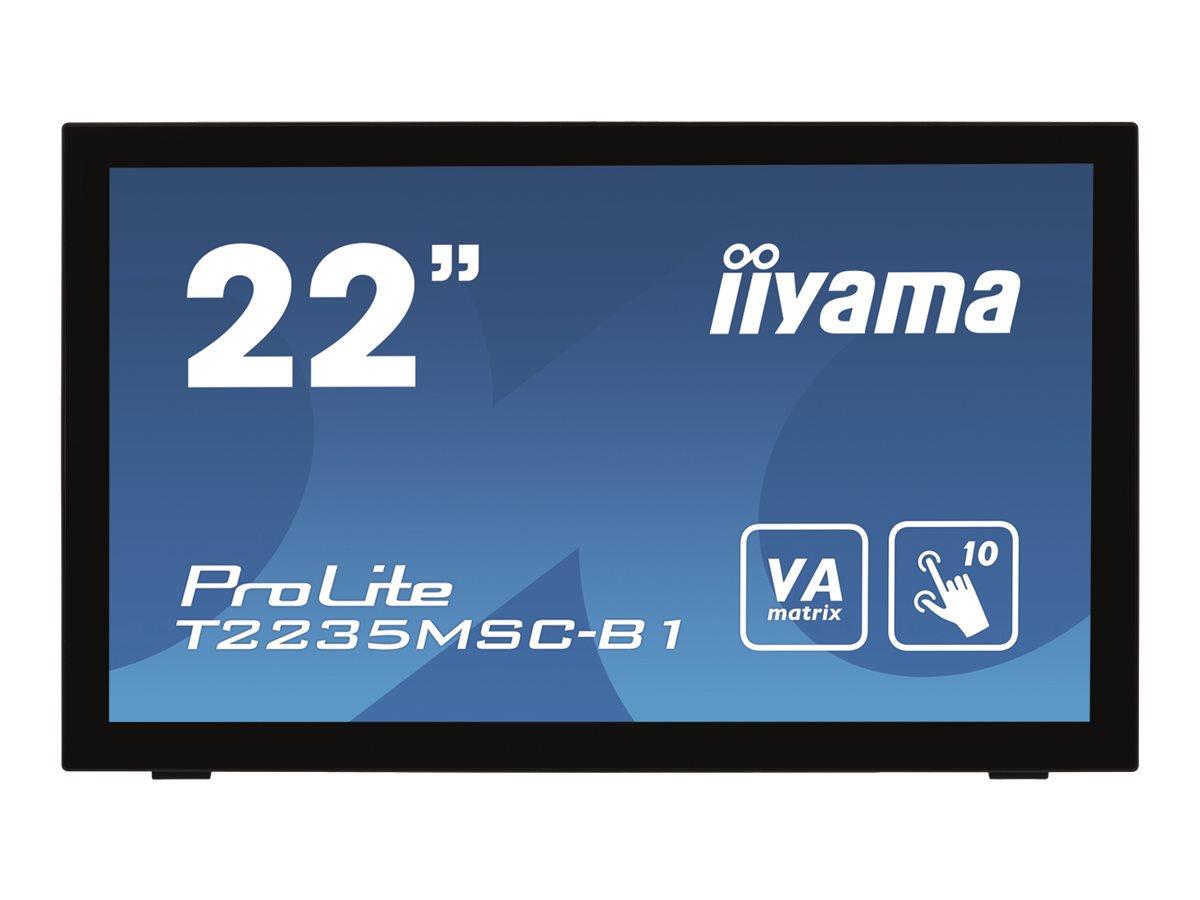 "Iiyama ProLite T2235MSC-B1 - LED-Monitor - 55.9 cm (22"")"