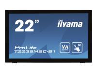 "ProLite T2235MSC-B1 - LED-Monitor - 55.9 cm (22"") (21.5"" sichtbar)"
