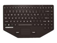 PCPE-MMRK01G Tastatur für Mobilgeräte Schwarz QWERTZ Deutsch USB