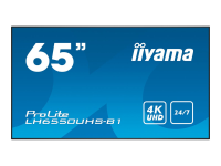 LH6550UHS-B1 - 165,1 cm (65 Zoll) - LED - 3840 x 2160 Pixel - 450 cd/m² - 4K Ultra HD - 16:9