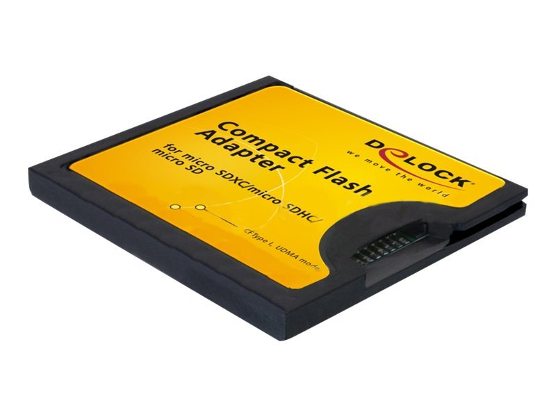 Delock Compact Flash Adapter - Kartenadapter (microSD, microSDHC, microSDXC)