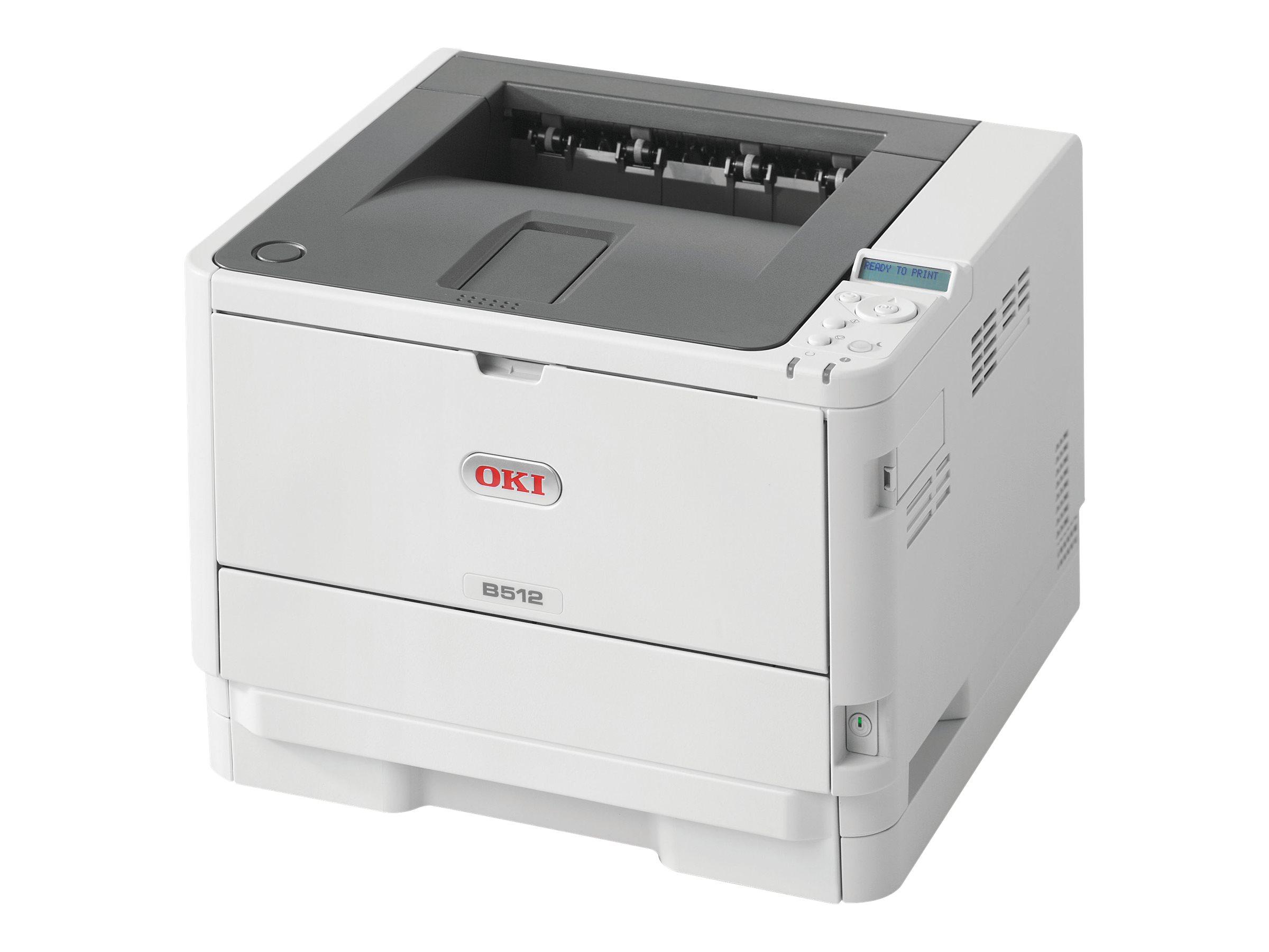 OKI B512dn - Drucker - monochrom - Duplex - LED