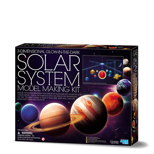 4m 00-05520 - Sonnensystem - Junge/Mädchen