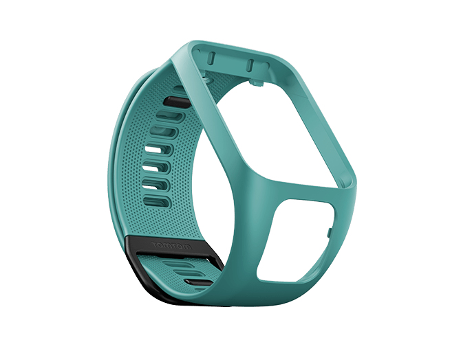 TomTom Größe L - Uhrarmband - Aquamarin