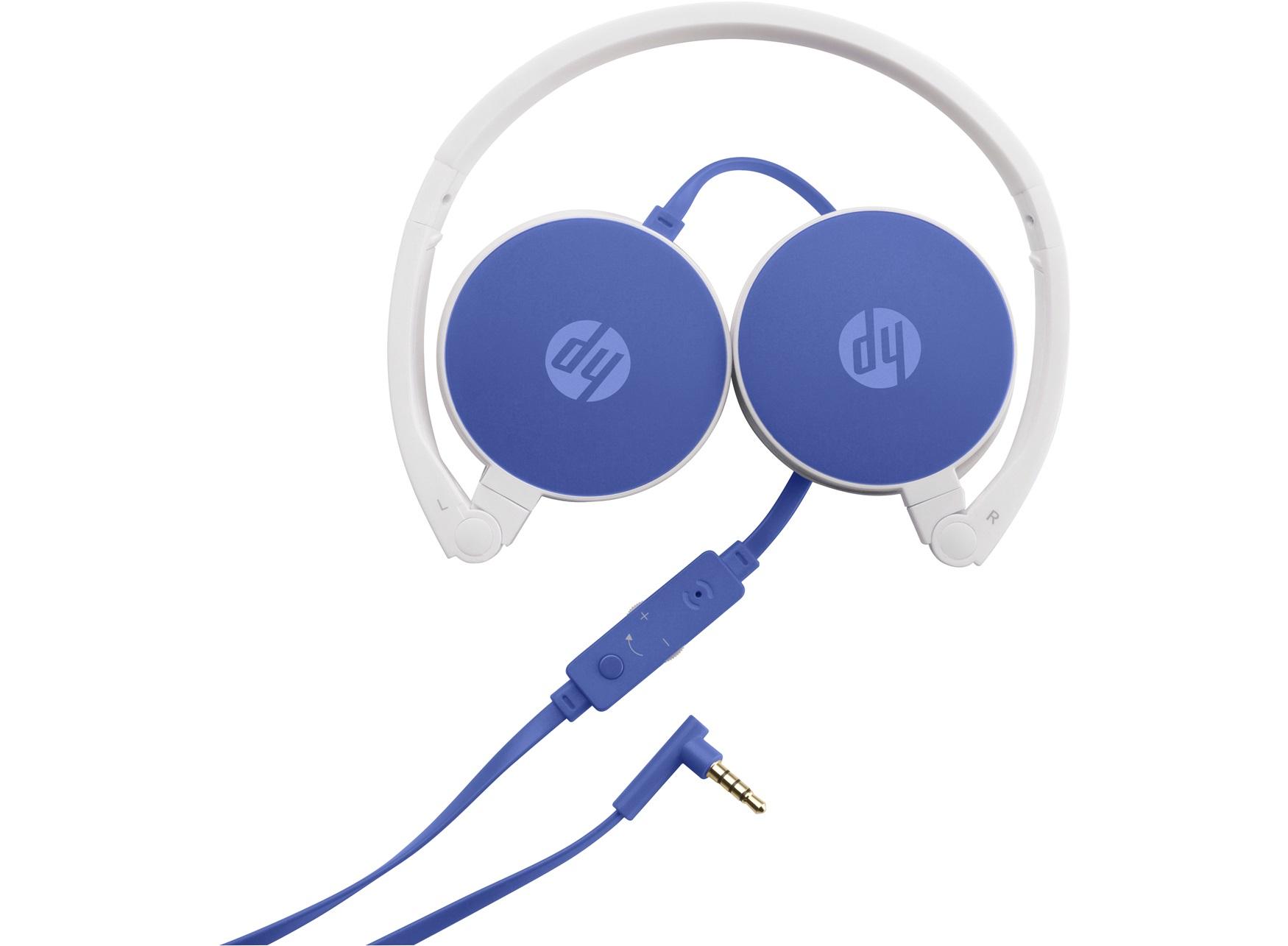 HP H2800 - Kopfhörer mit Mikrofon - Full-Size