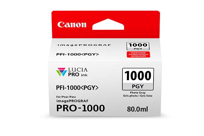 Canon PFI-1000 PGY 80ml Foto grau Tintenpatrone