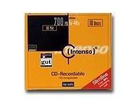 Intenso 10 x CD-R - 700 MB (80 Min) 40x - Slim