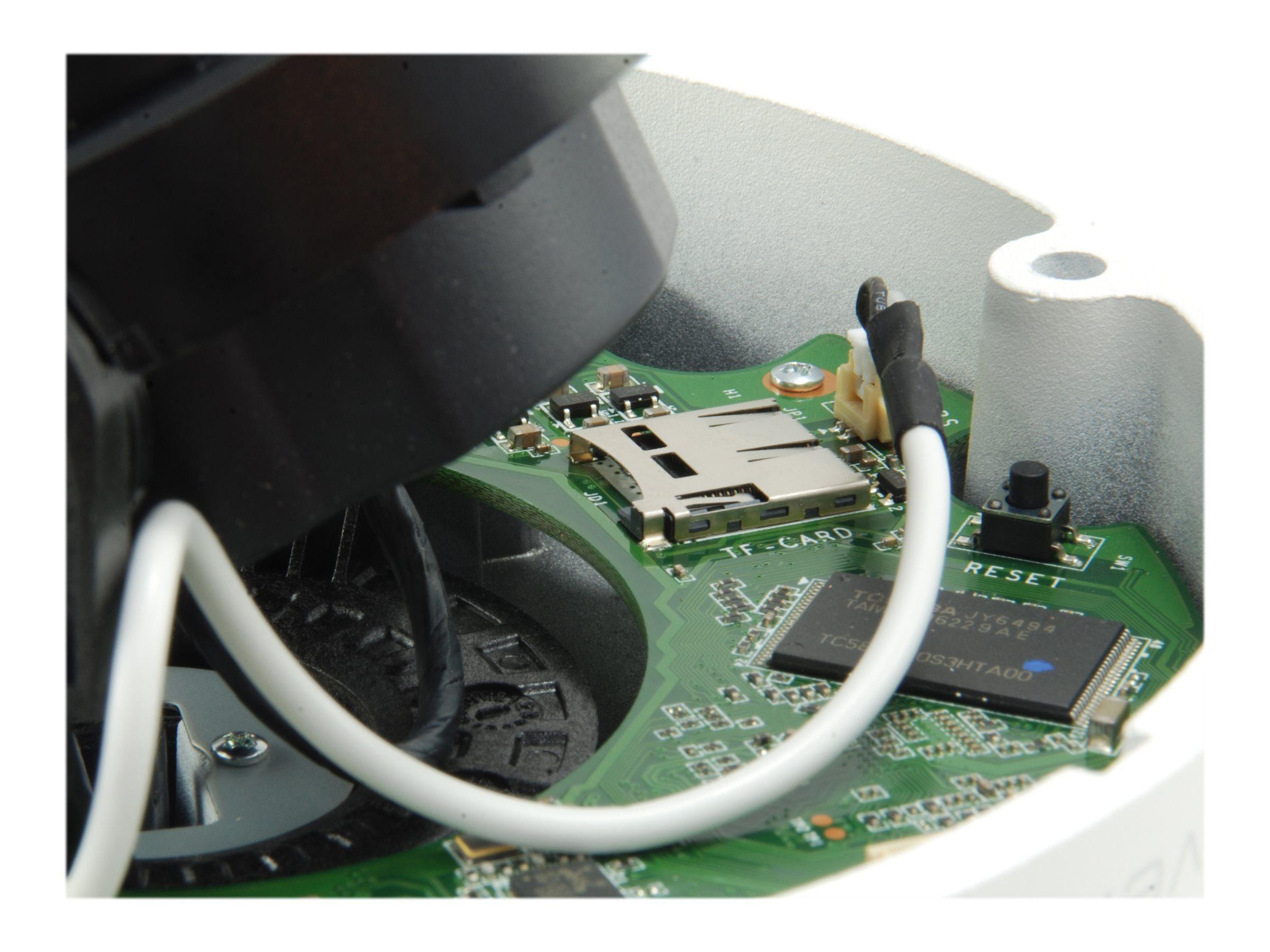 LevelOne GEMINI series FCS-3411 - Netzwerk-Überwachungskamera - Kuppel - Außenbereich - wetterfest - Farbe (Tag&Nacht)