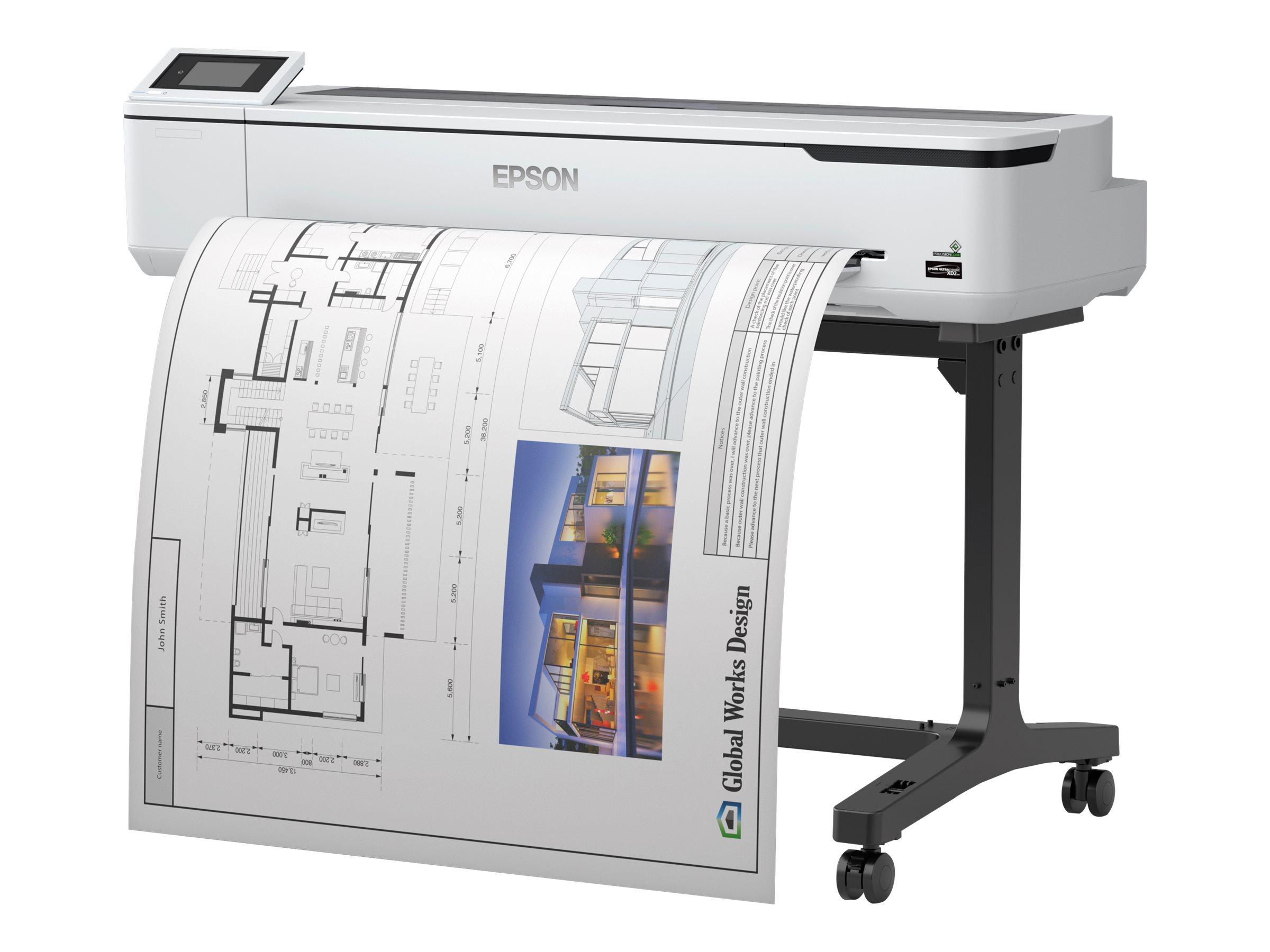 "Epson SureColor SC-T5100 - 914 mm (36"") Großformatdrucker - Farbe - Tintenstrahl - Rolle (91,4 cm)"