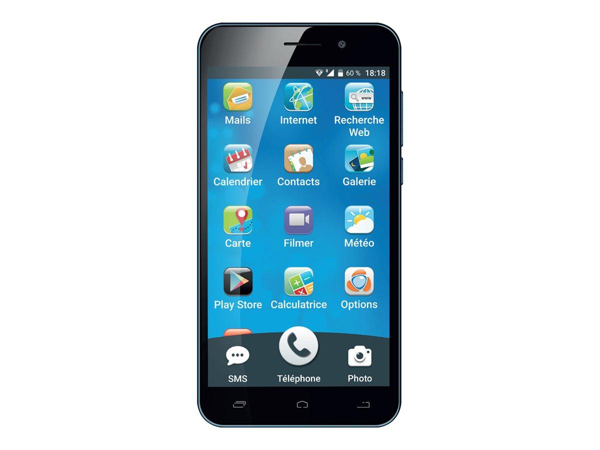 "Ordissimo LeNuméro1 Mini - Smartphone - 4G LTE - 16 GB - GSM - 5"" - 1280 x 720 Pixel - IPS - RAM 2 GB - 8 MP (2 MP Vorderkamera)"