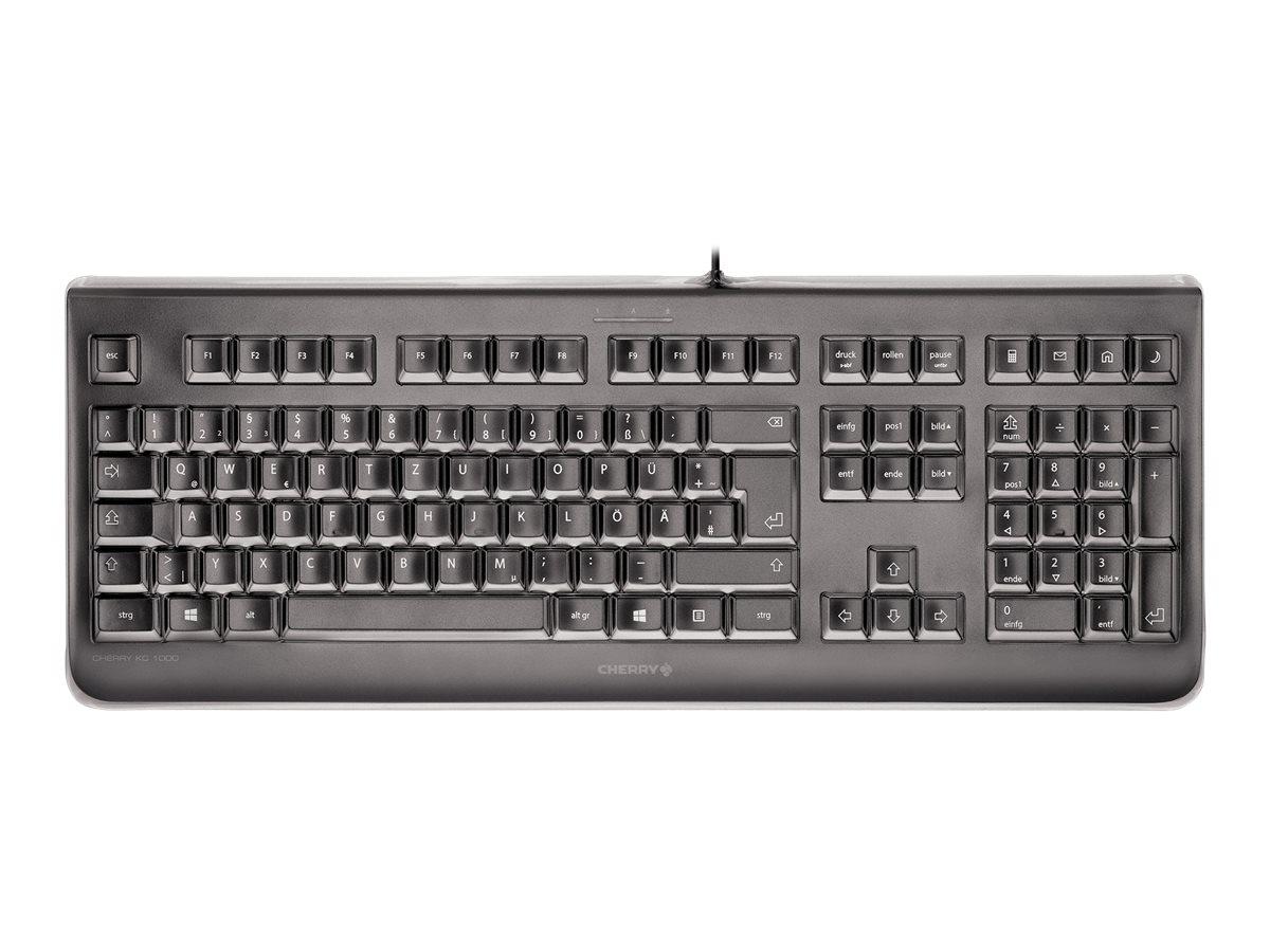 Vorschau: Cherry KC 1068 - Tastatur - USB - Schweiz - Schwarz
