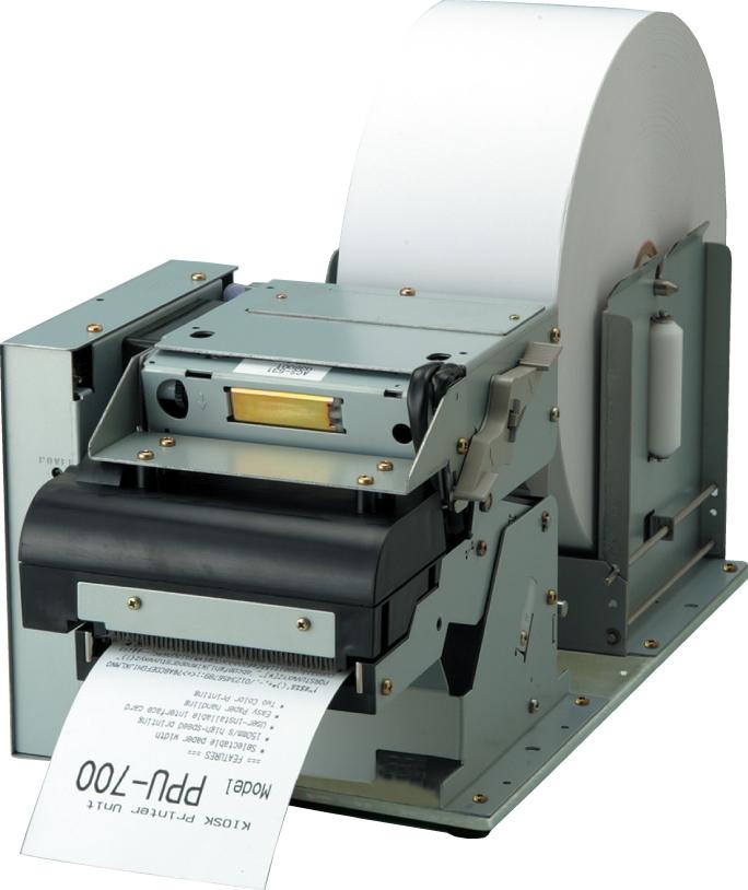 Citizen PPU-700 - Einbau-Kiosk-Drucker, USB, Rollenzuführung seitlich, mit Cutter
