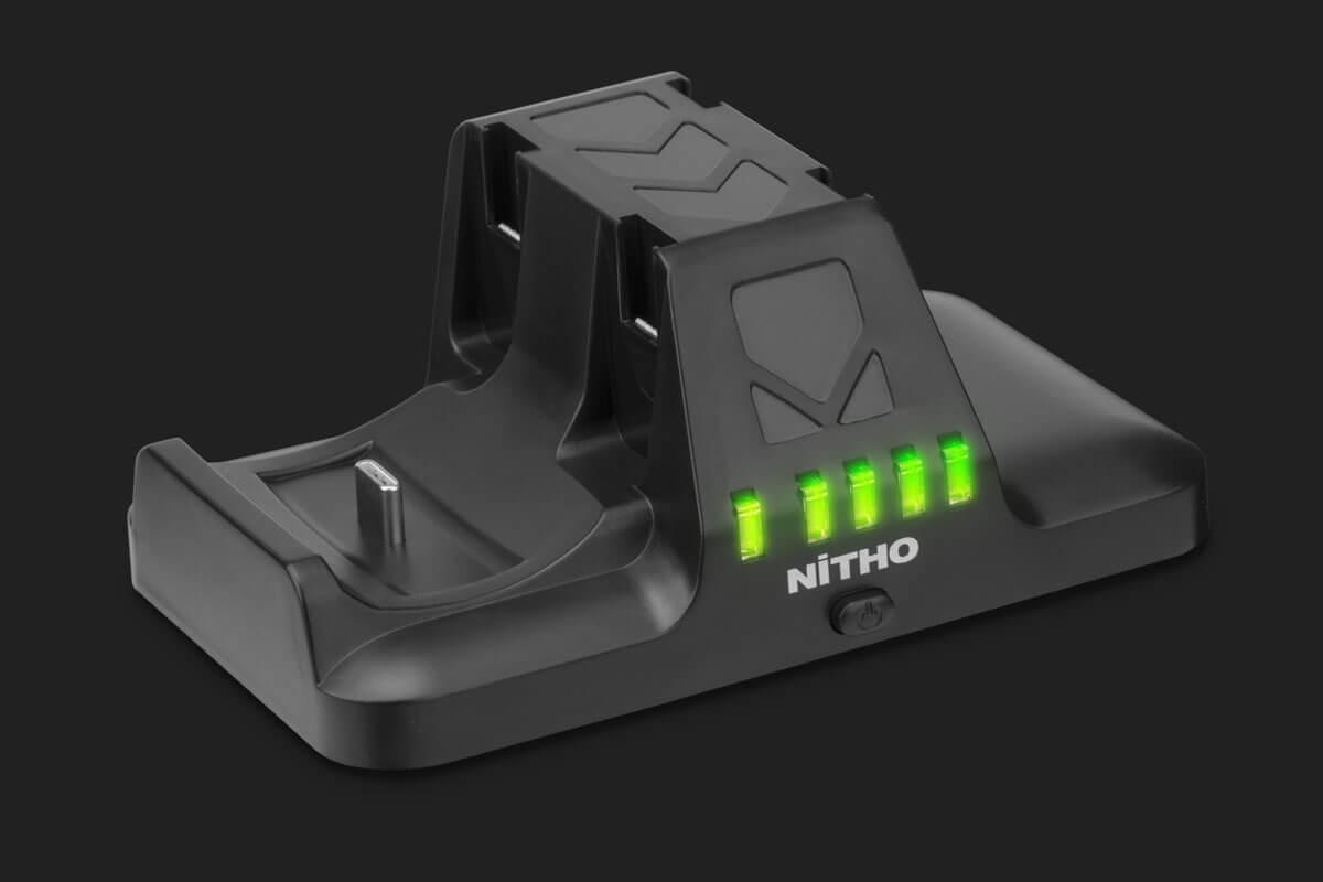 Nitho NSW-CHPR-K - Ladestation - Nintendo Switch - Schwarz - USB