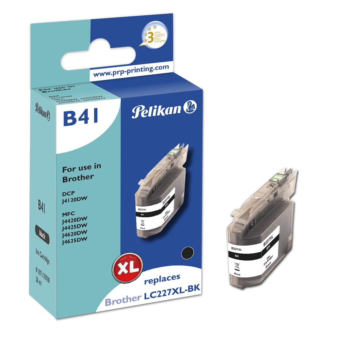 Pelikan B41 Black - Box - Tintenpatrone Kompatibel - Schwarz