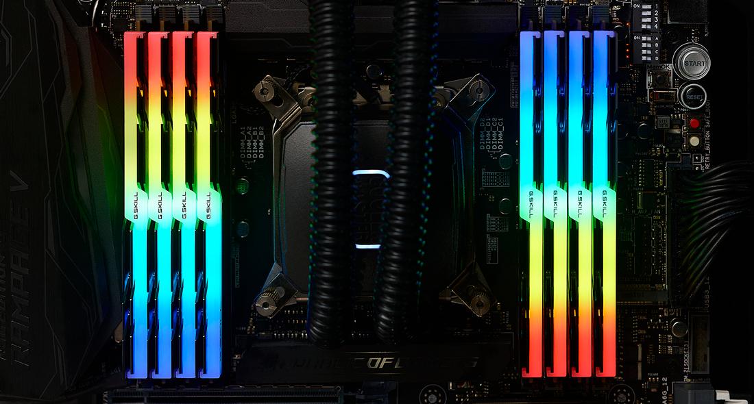 G.Skill TridentZ RGB Series - DDR4 - 256 GB: 8 32 GB