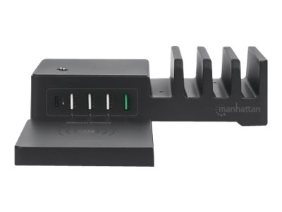 Manhattan Charging Station with Wireless Charging Pad (detachable)
