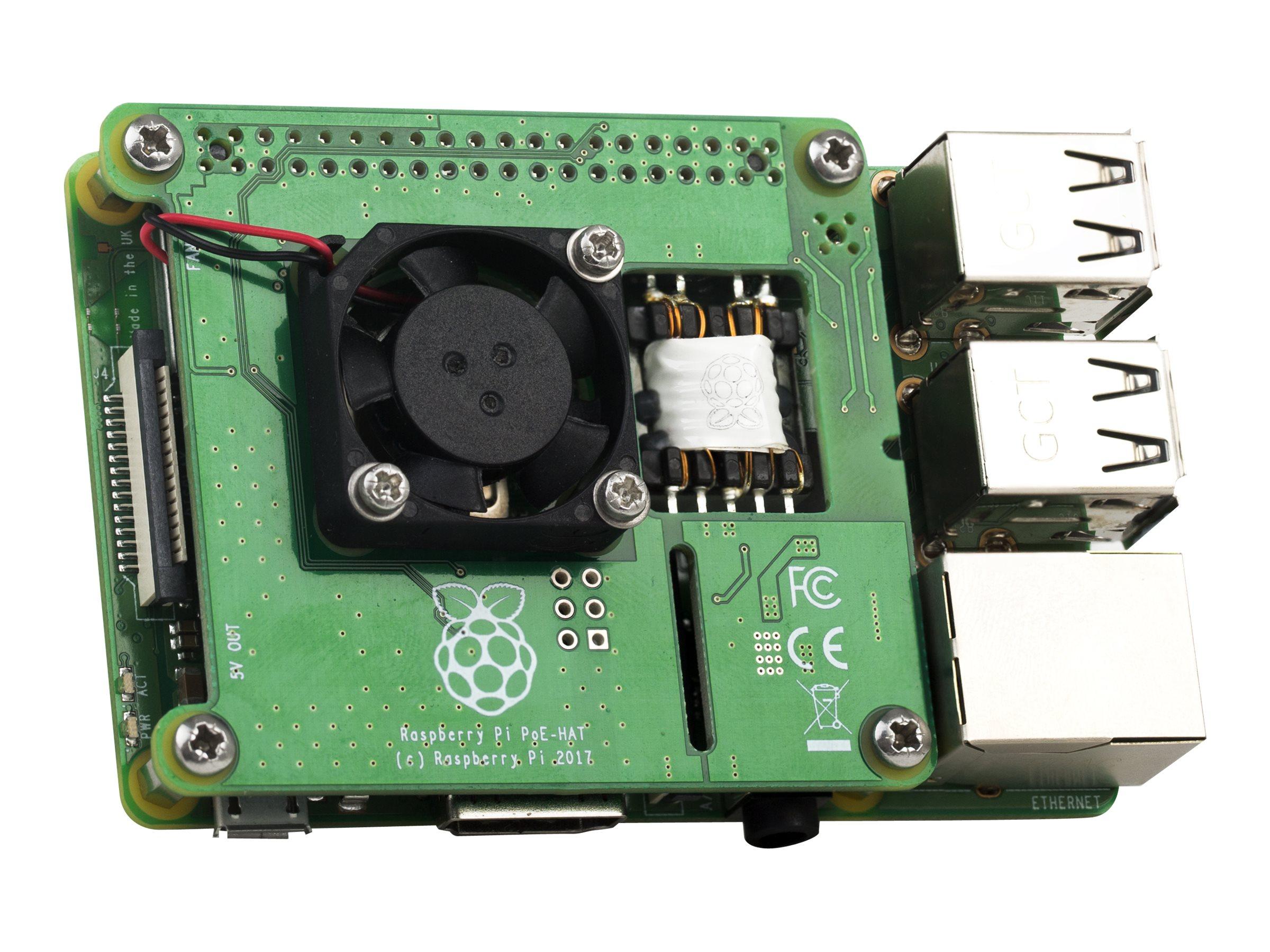 Raspberry Pi Pi PoE HAT - Zusätzliche Schalttafel