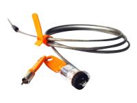 MicroSaver Custom Notebook Lock Supervisor-Only Access - Sicherheitskabelschloss - Schwarz