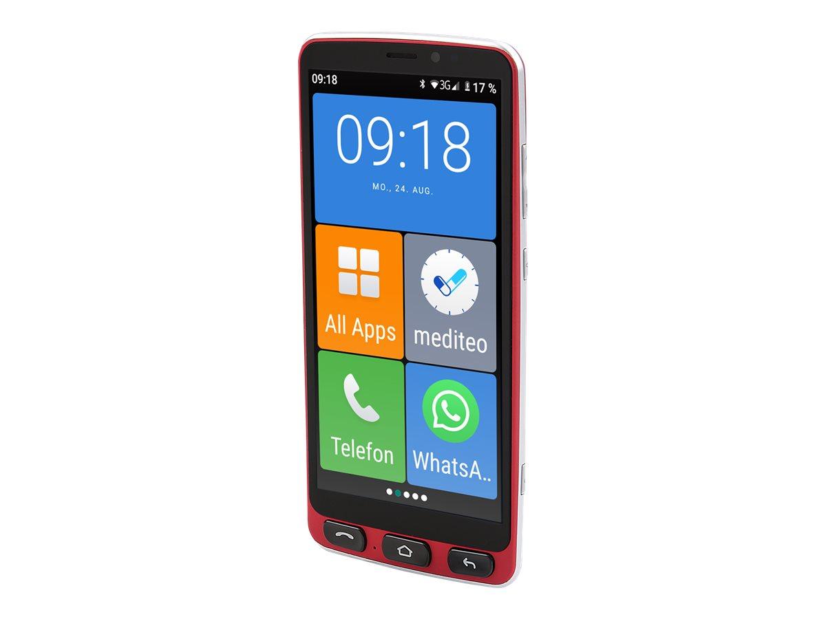 "Olympia Neo - Smartphone - Dual-SIM - 4G LTE - 16 GB - microSD slot, - microSD slot - 5.5"" - IPS - RAM 2 GB - 8 MP (5 MP Vorderkamera)"