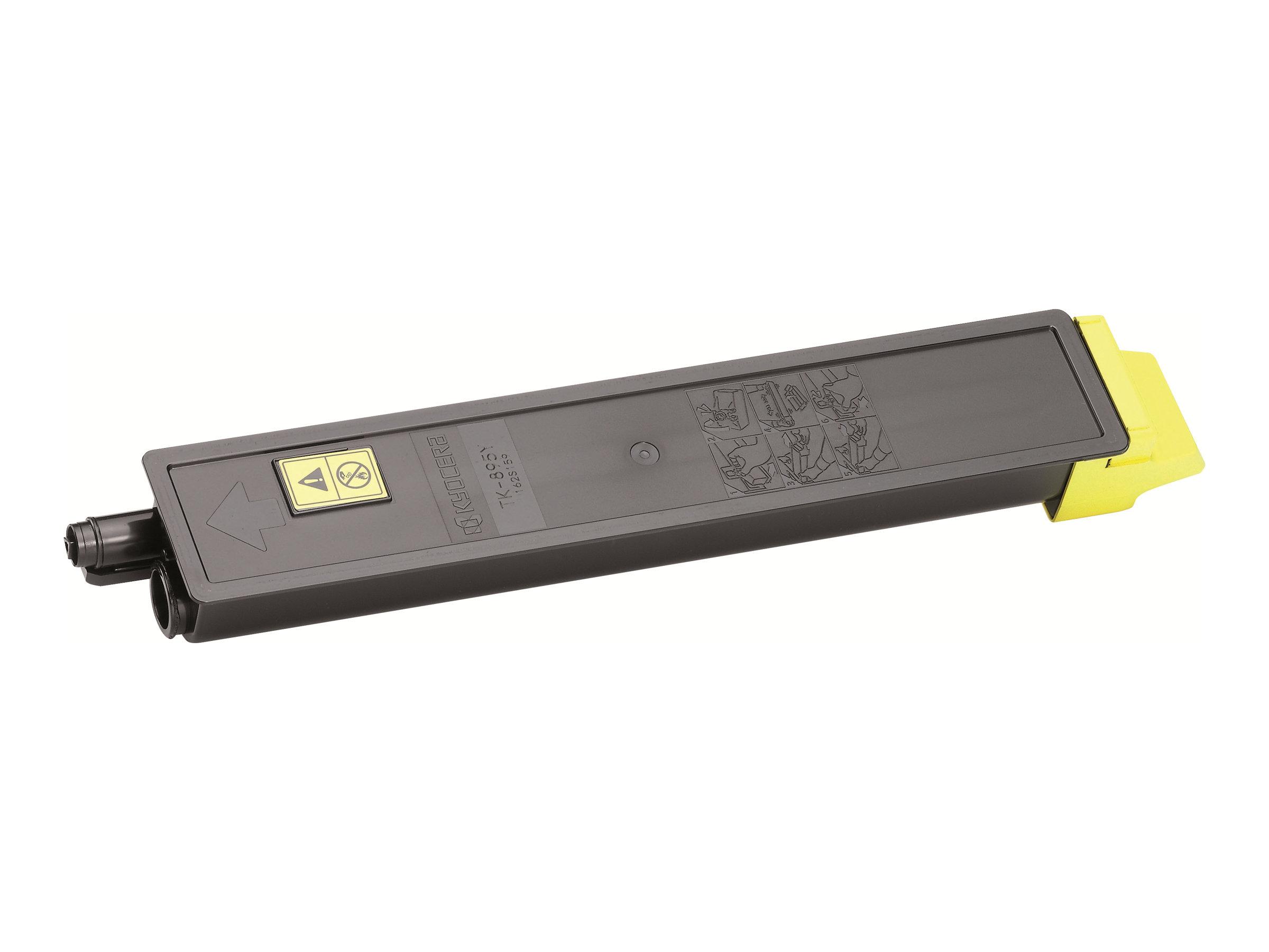 Kyocera TK 895Y - Gelb - Original - Tonerpatrone