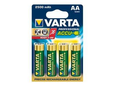 Varta Professional Accu - Batterie 4 x AA-Typ