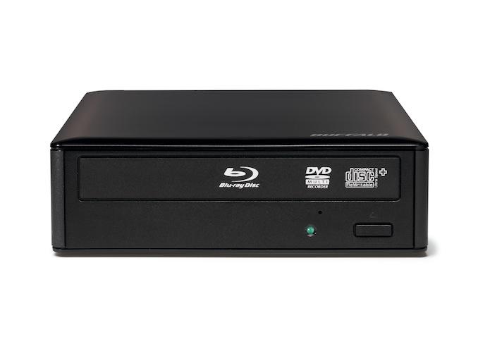 Buffalo BRXL-16U3-EU Blu-Ray DVD Combo Schwarz Optisches Laufwerk