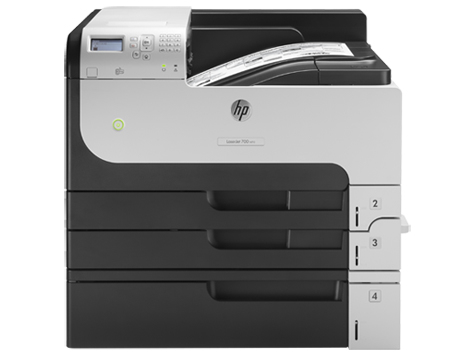 HP LaserJet Enterprise 700 Printer M712xh - Drucker - monochrom - EU (engl.)