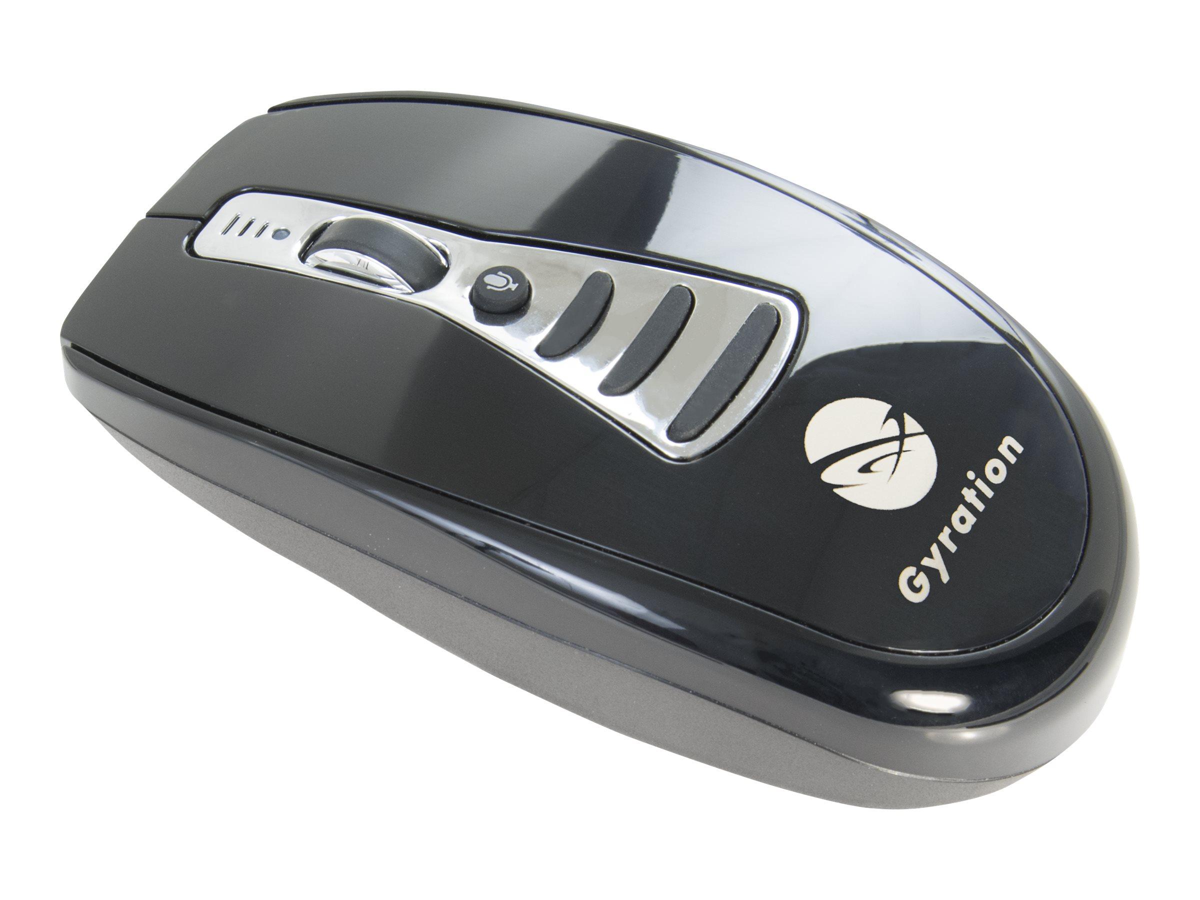 Gyration Air Mouse Voice - Maus - gyroskopisch