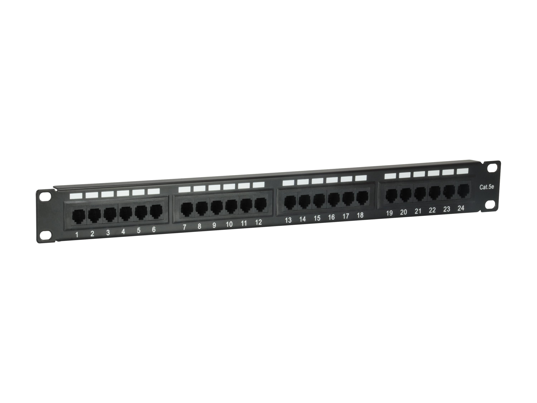 equip 235325 - Cat5e - Schwarz - Rackeinbau - 1U - CE - 482,6 mm