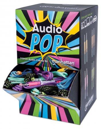 Manhattan Thekendisplay - Audiokabel - stereo mini jack (M) bis stereo mini jack (M)