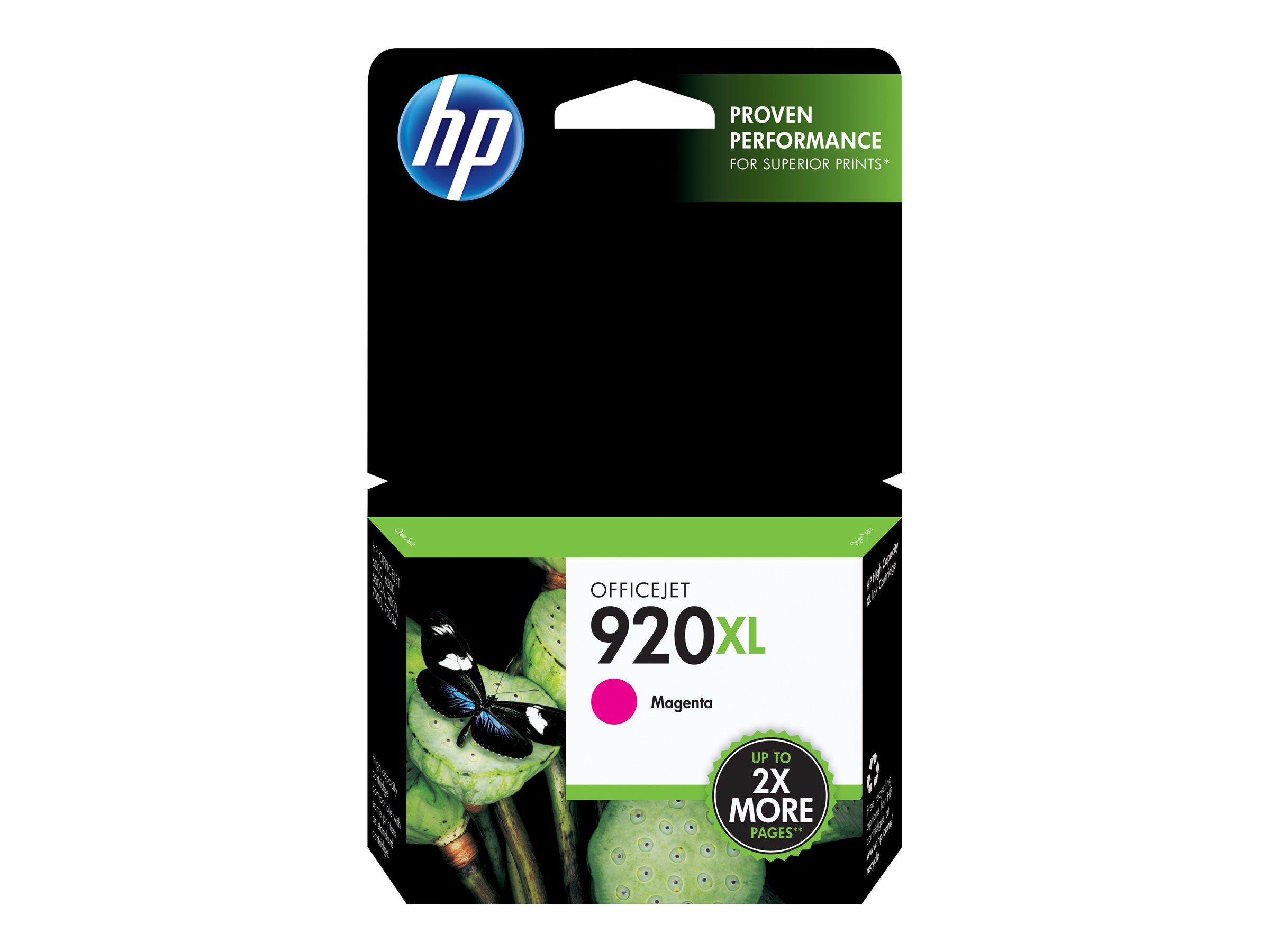 HP 920XL - Hohe Ergiebigkeit - Magenta - Original