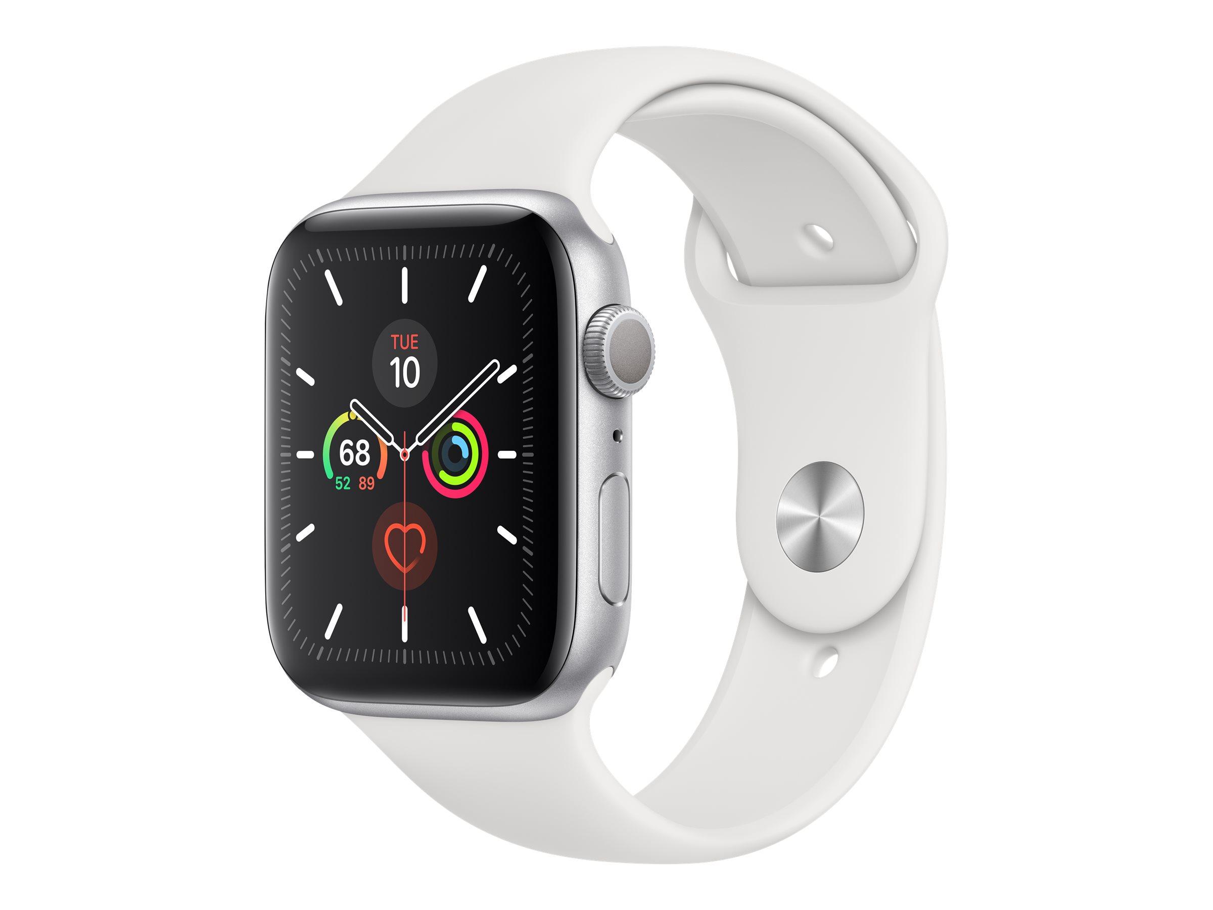 Apple Watch Series 5 (GPS) - 44 mm - Aluminium, Silber