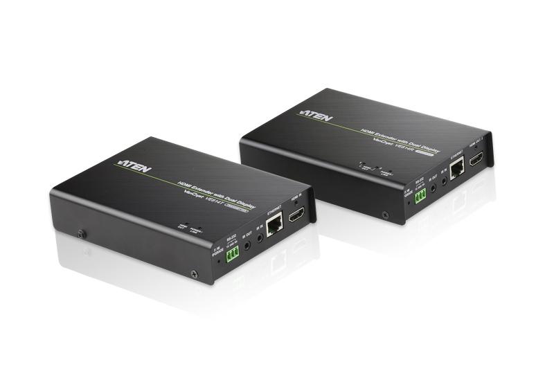 ATEN AT-VE814 KVM-Umschalter - Seriell RS-232 HDMI-Eingang, HDMI-Ausgang HDMI