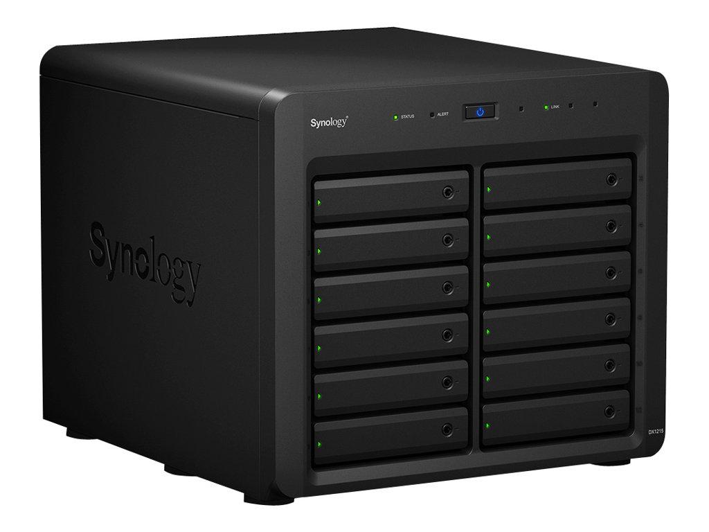 Synology DX1215 - Festplatten-Array - 12 Schächte (SATA-600)