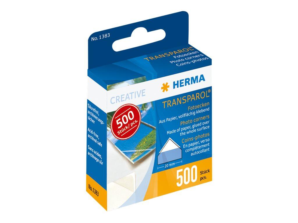 HERMA Transparol - Fotoecke (Packung mit 500)