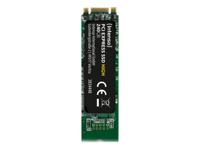 Intenso 240 GB SSD - intern - M.2 2280 - PCI