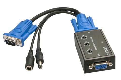 Lindy VGA Skew Compensator for CAT5 VGA Extensions - Farbsignalkompensator