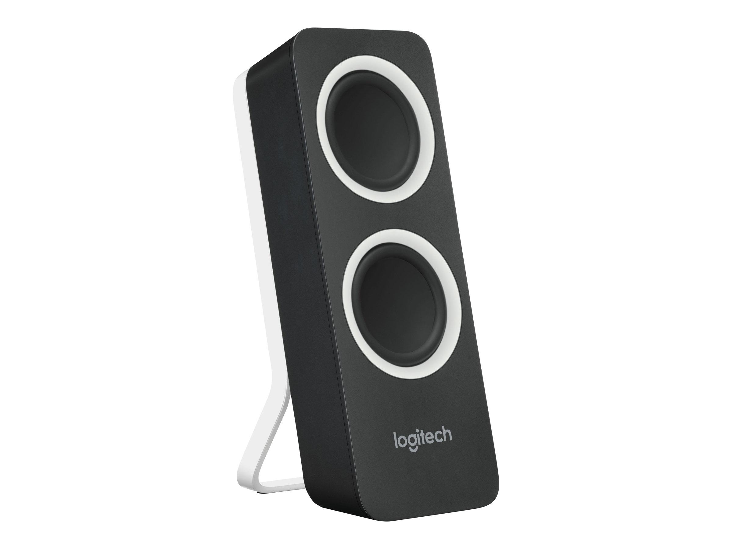 Logitech Z200 - Lautsprecher - Schwarz