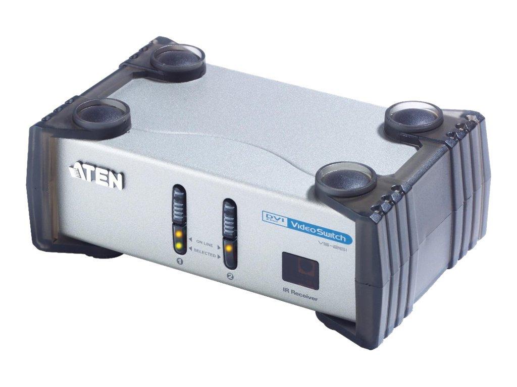 ATEN VS-261 - Monitor-/Audio-Switch - Desktop