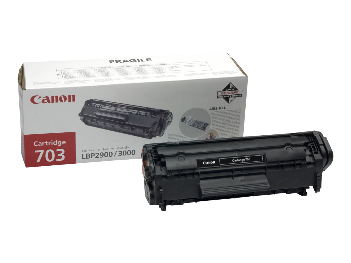 Canon 703 - Schwarz - Original - Tonerpatrone