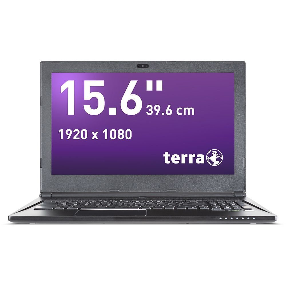 Wortmann AG TERRA MOBILE 1590S 2.6GHz I7-6700HQ 15.6Zoll 1920 x 1080Pixel Anthrazit Notebook
