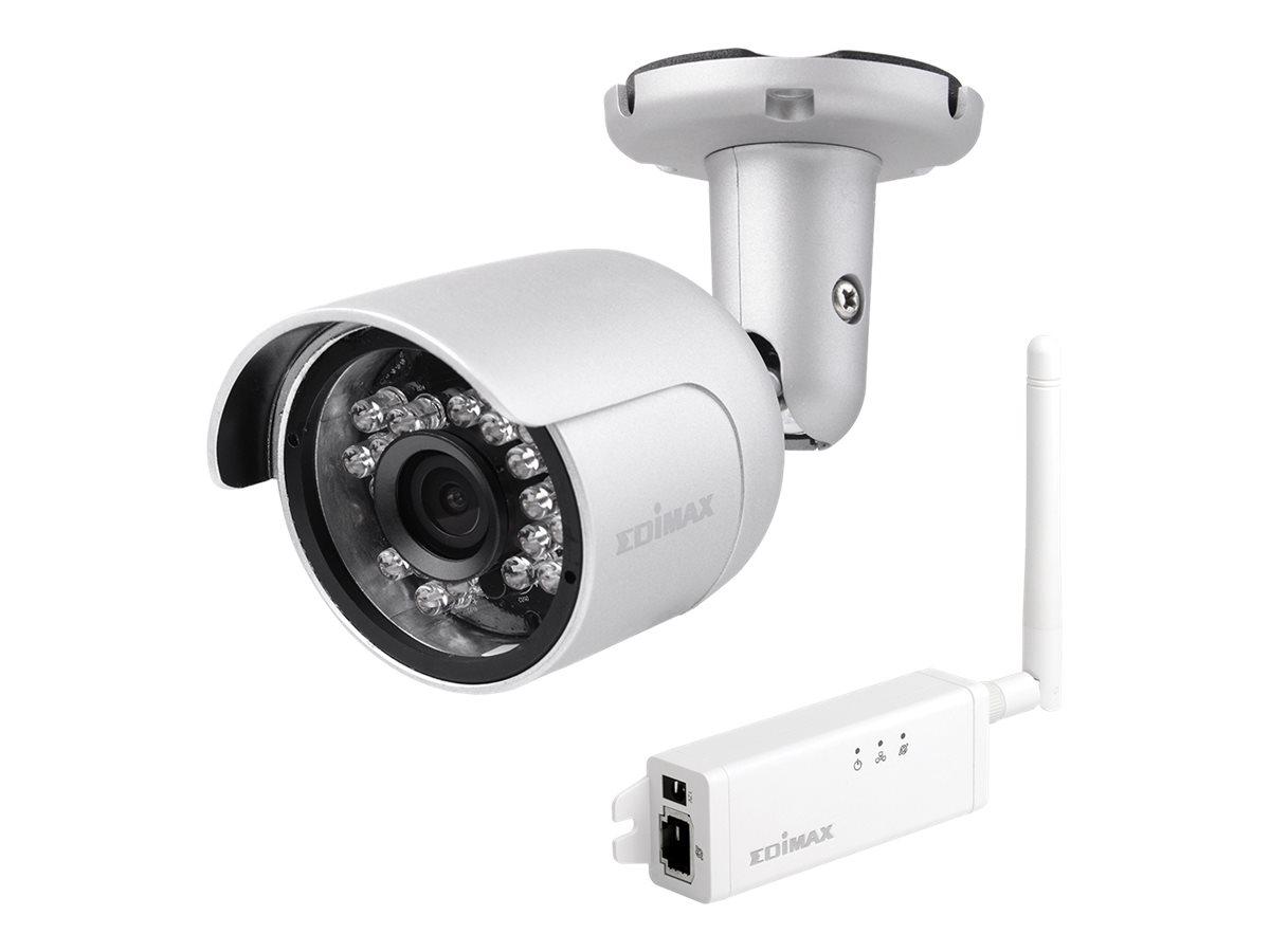 Edimax IC-9110W - Netzwerk-Überwachungskamera - Außenbereich - wasserfest - Farbe (Tag&Nacht)