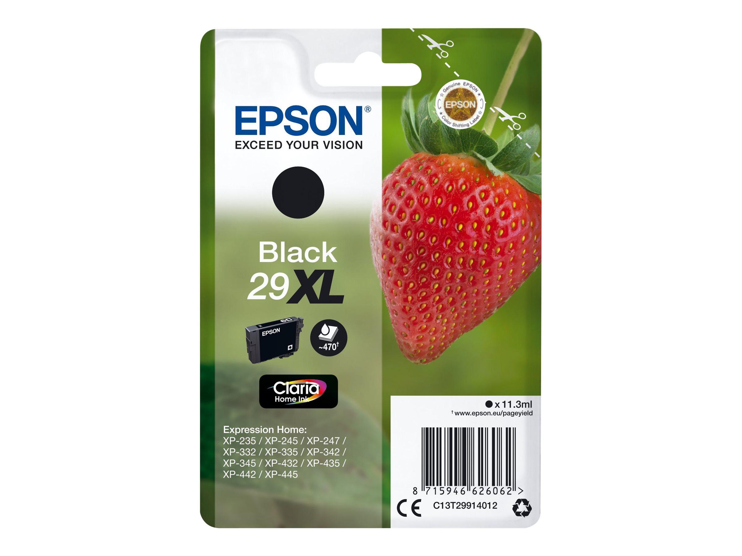 Epson 29XL - 11.3 ml - XL - Schwarz - Original