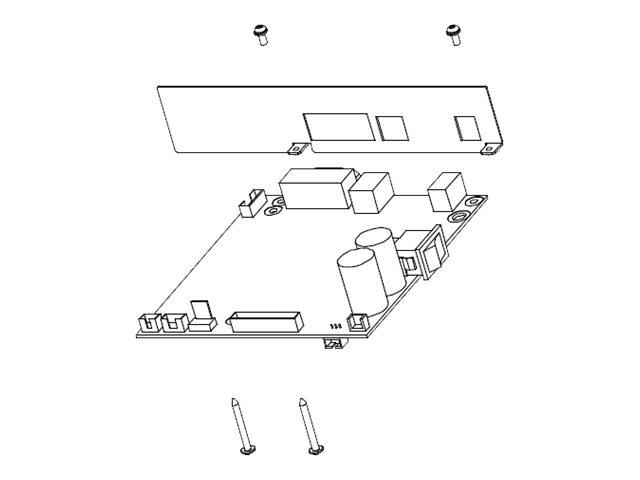 HONEYWELL Datamax E-Class Mark III - Montage-Kit für Mainboard