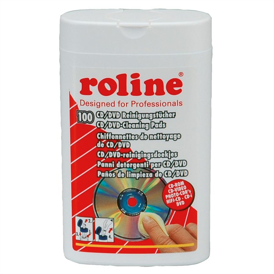 ROLINE Reinigungstücher (Wipes) (Packung mit 100 )