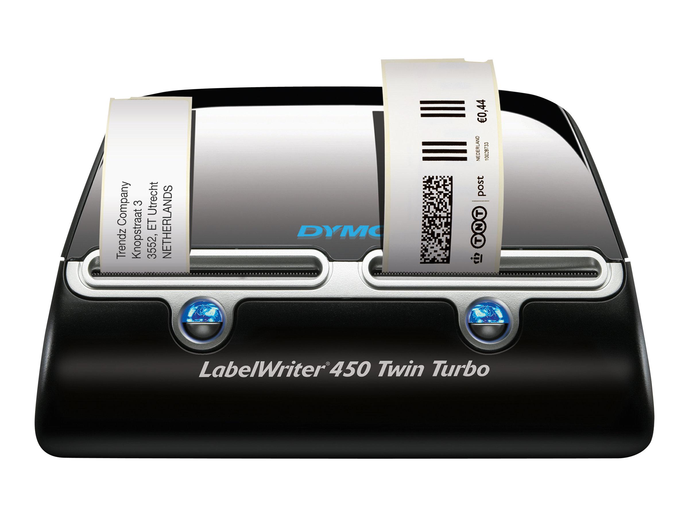 Dymo LabelWriter 450 Twin Turbo - Etikettendrucker - Thermopapier - Rolle (6,2 cm)