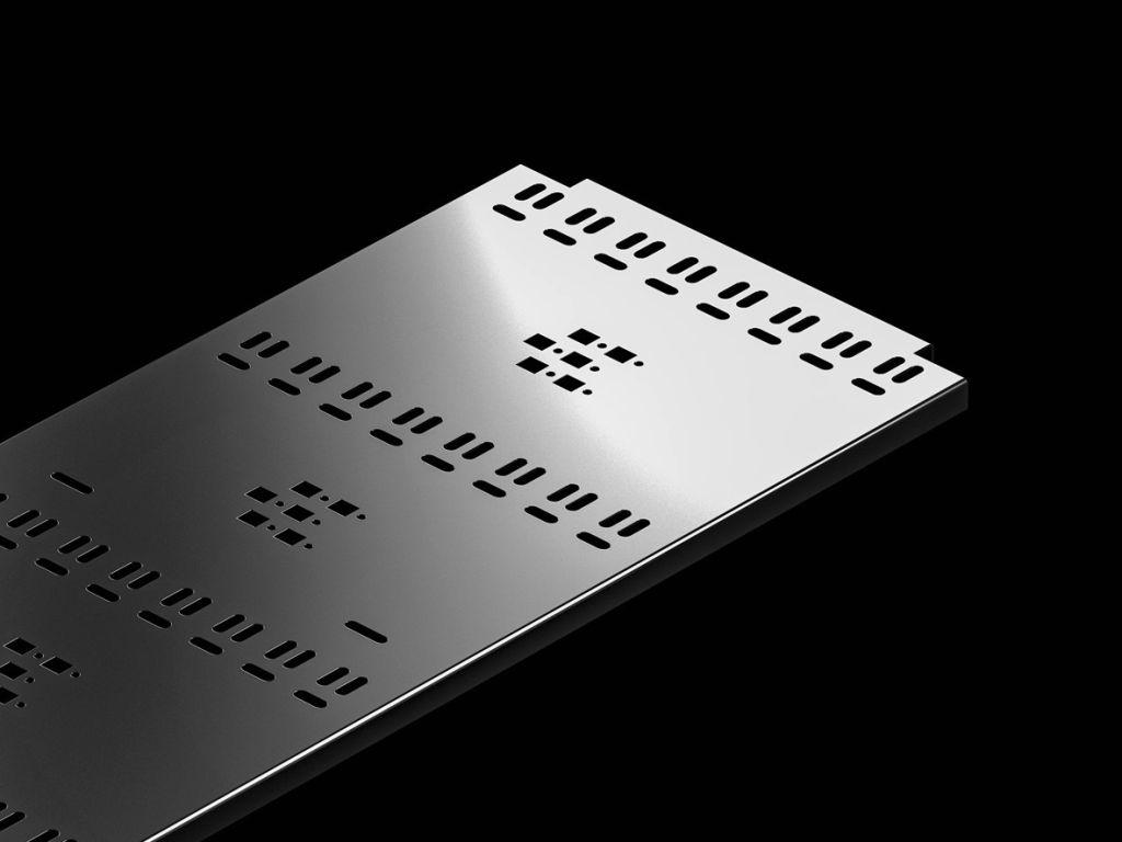 Vorschau: Rittal 7888.322 - Kabelrinne - Grau - Stahl - 1 Stück(e)