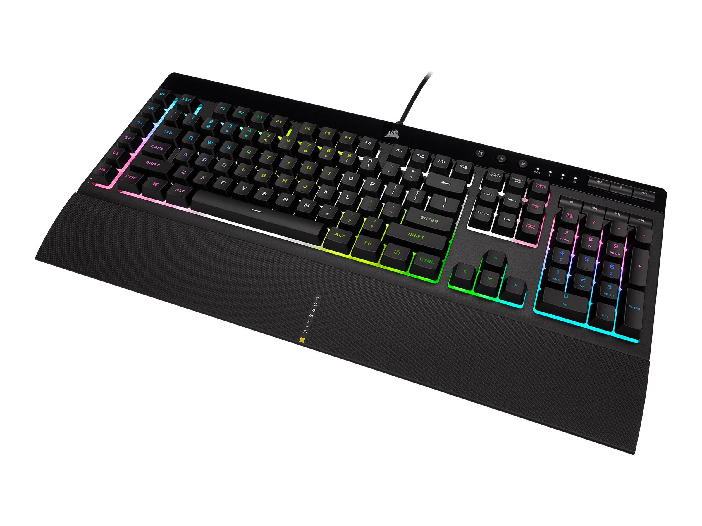 Vorschau: Corsair Gaming K55 RGB PRO XT - Tastatur - Hintergrundbeleuchtung