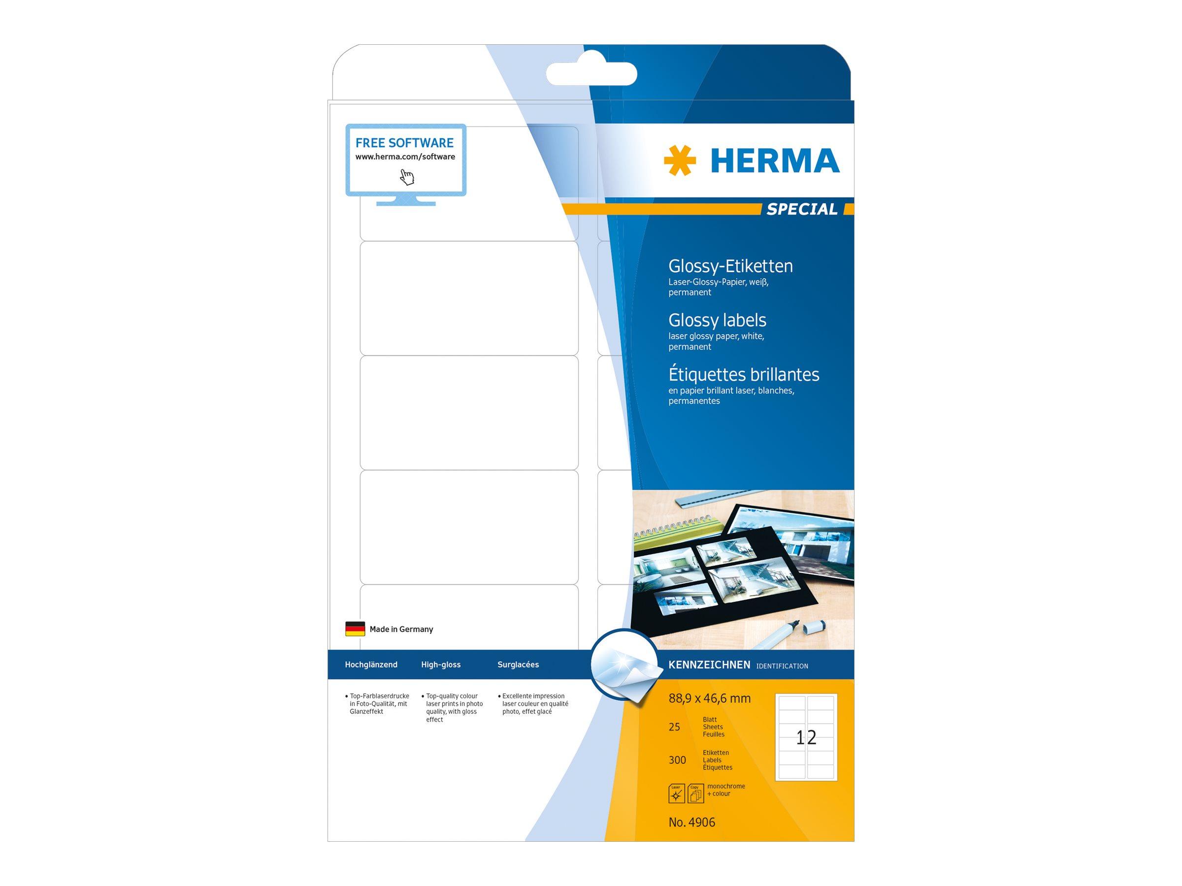 HERMA Special - Papier - hochglänzend