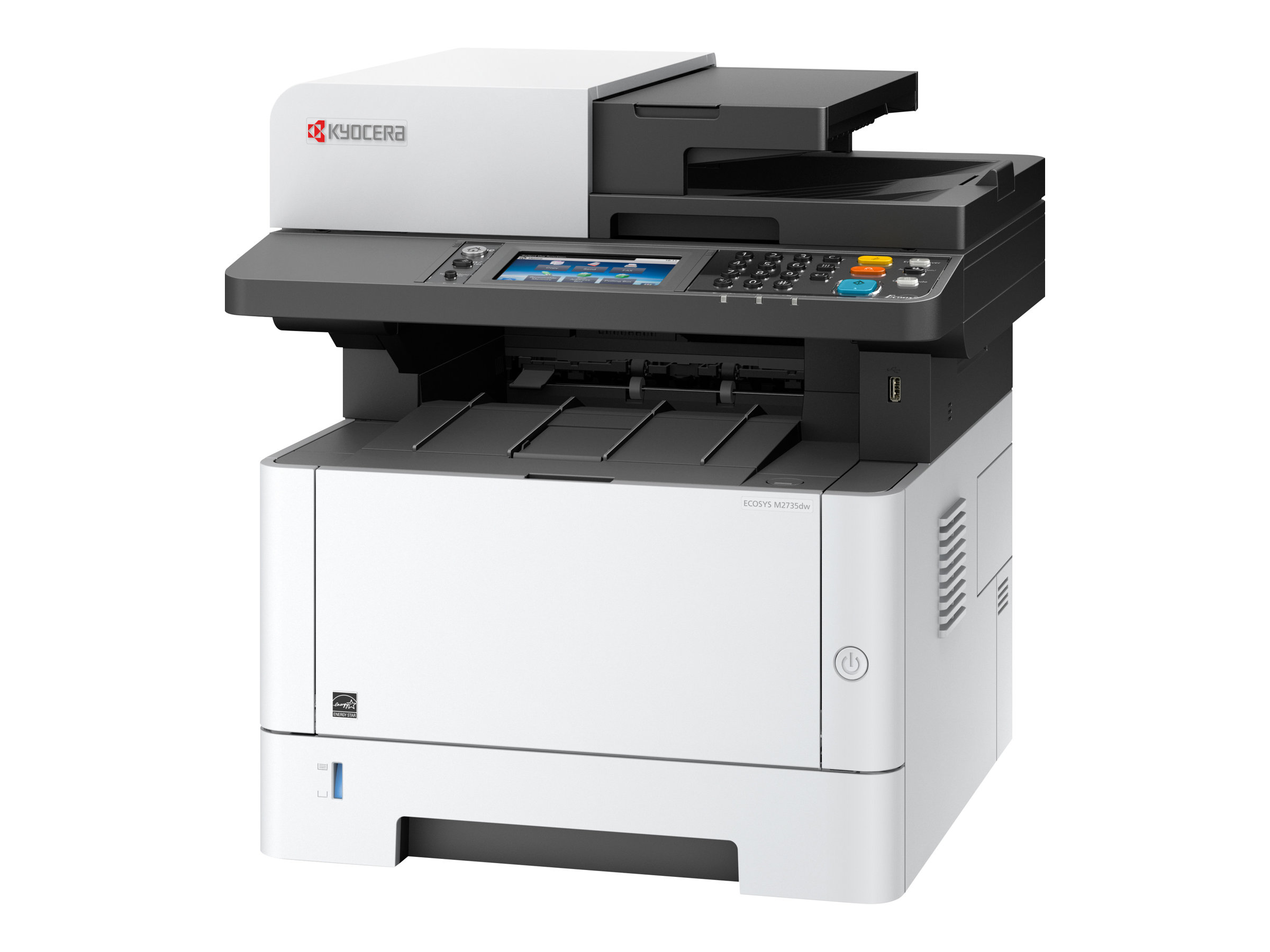 Kyocera ECOSYS M2735dw - Multifunktionsdrucker - s/w - Laser - Legal (216 x 356 mm)
